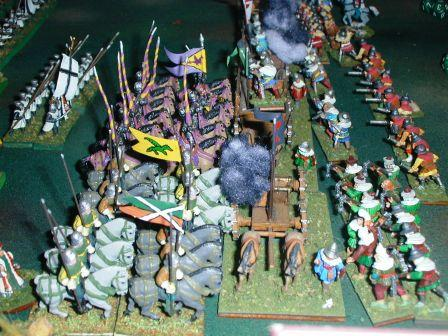 Crusaders assault the Hussite Wagon Fortress